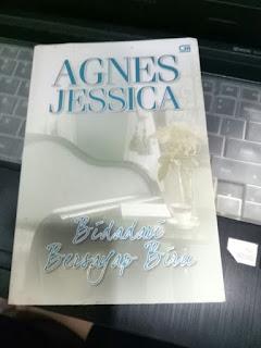 Sinopsis Novel Agnes Jessica Bidadari Bersayap BIru