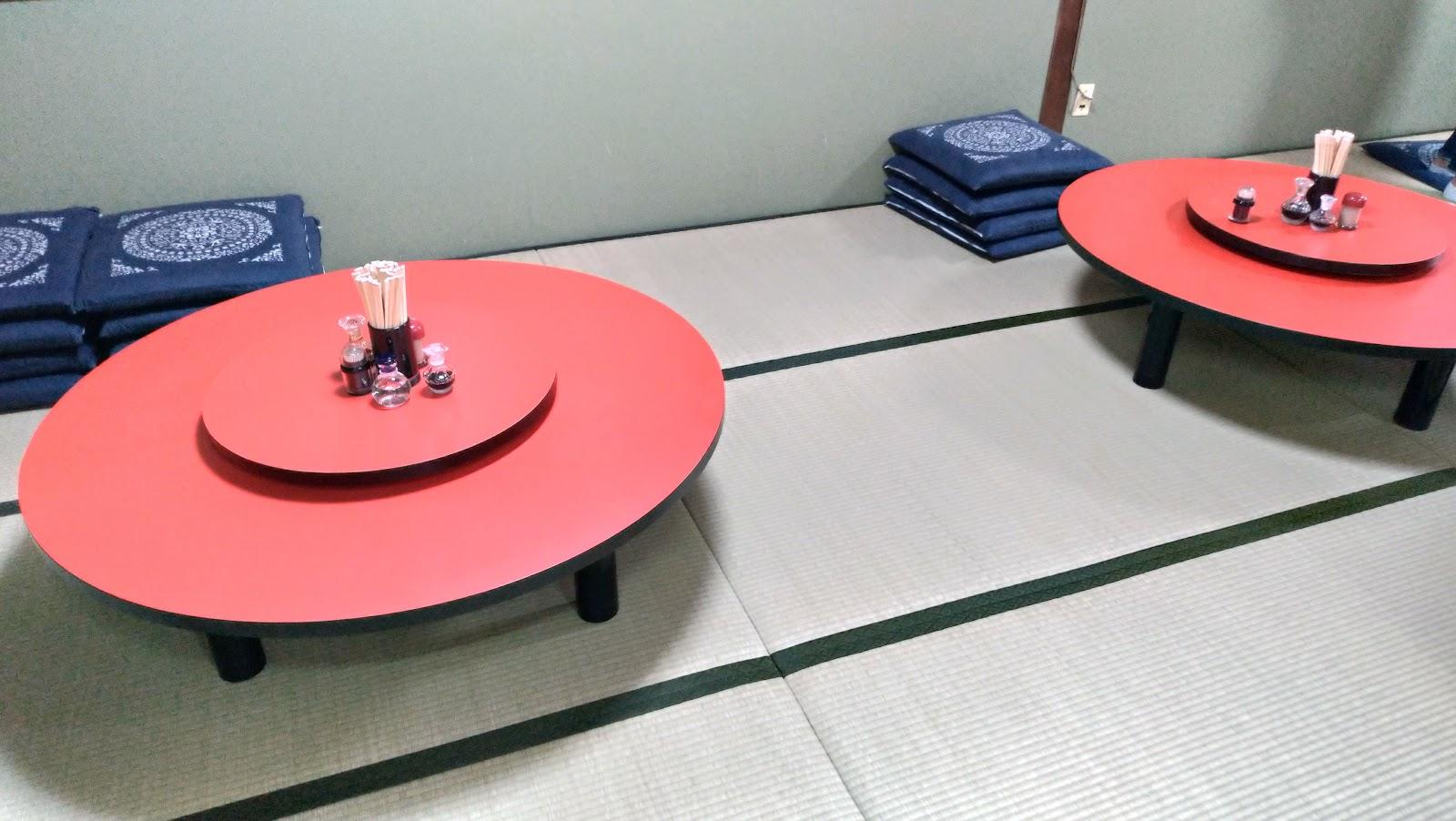 【長崎市グルメ】永楽苑 しいたけ肉そば 円卓