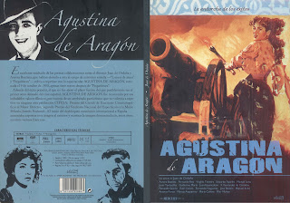 Carátula dvd: Agustina de Aragón