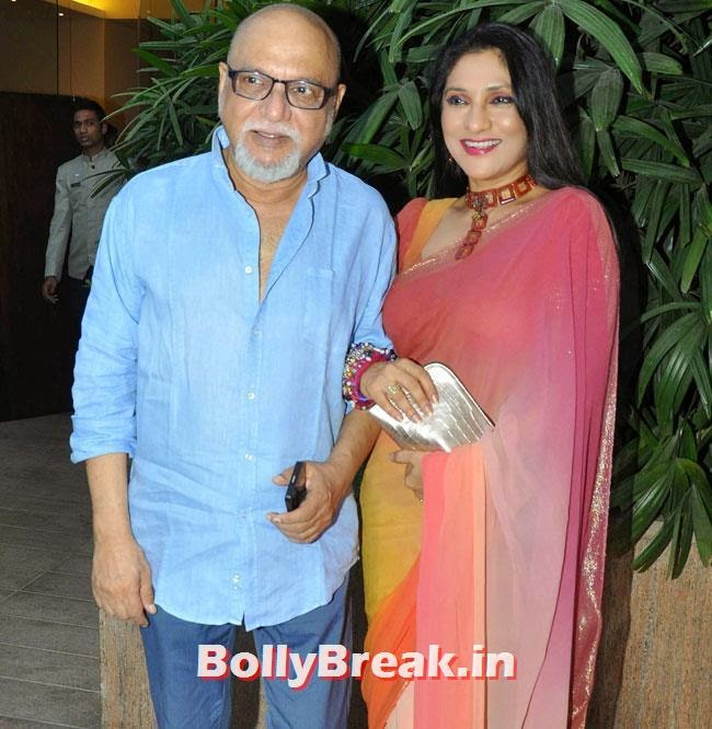 Pritish Nandy and Aarti Surendranath, Aarti Surendranath at Aamir Khan Book Launch Events