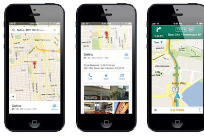 Google Maps untuk iPhone Sudah Ada Rute Sepeda Motor