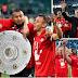 El Bayern se coronó pentacampeón de la Bundesliga al golear 6-0 al Wolfsburgo
