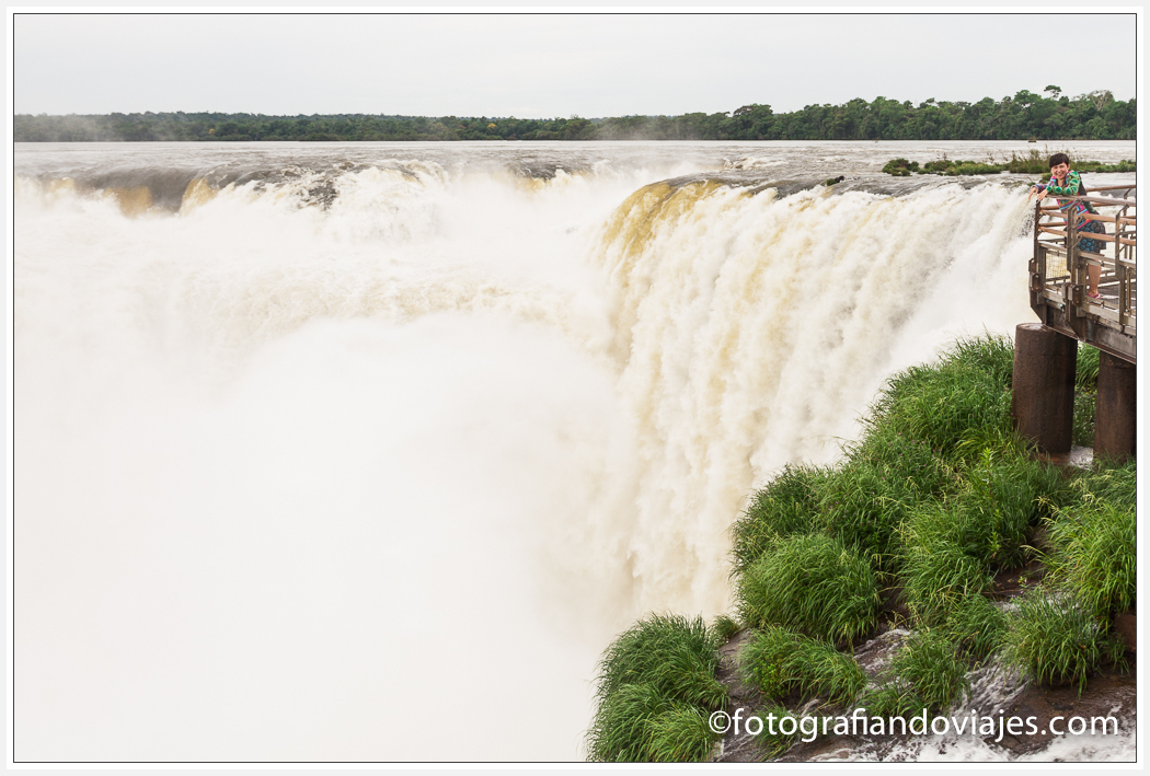 Garganta del diablo Cataratas Iguazu lado argentino