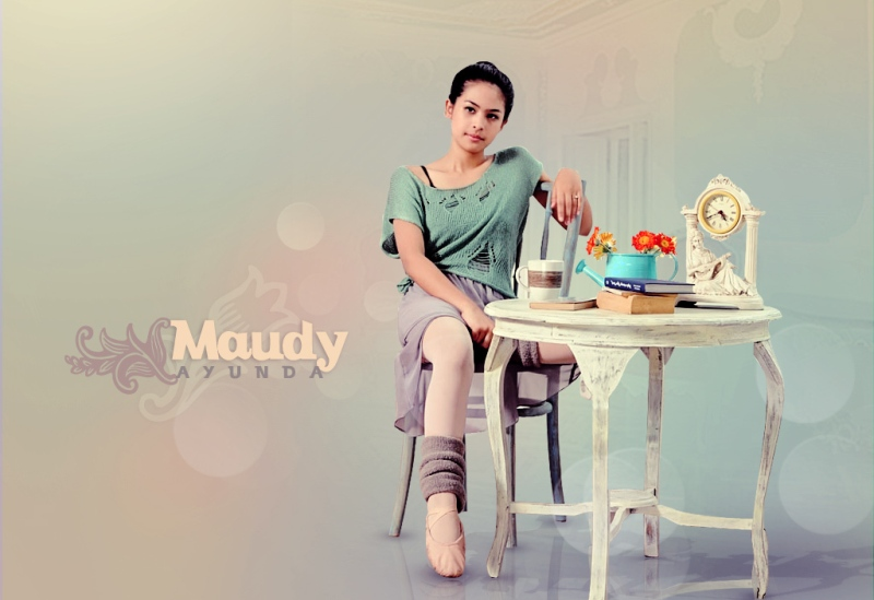 Wallpaper Maudy Ayunda Artis Cantik Indonesia by profilpedia.com