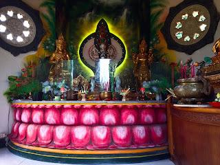 interior room pagoda brahmavihara arama