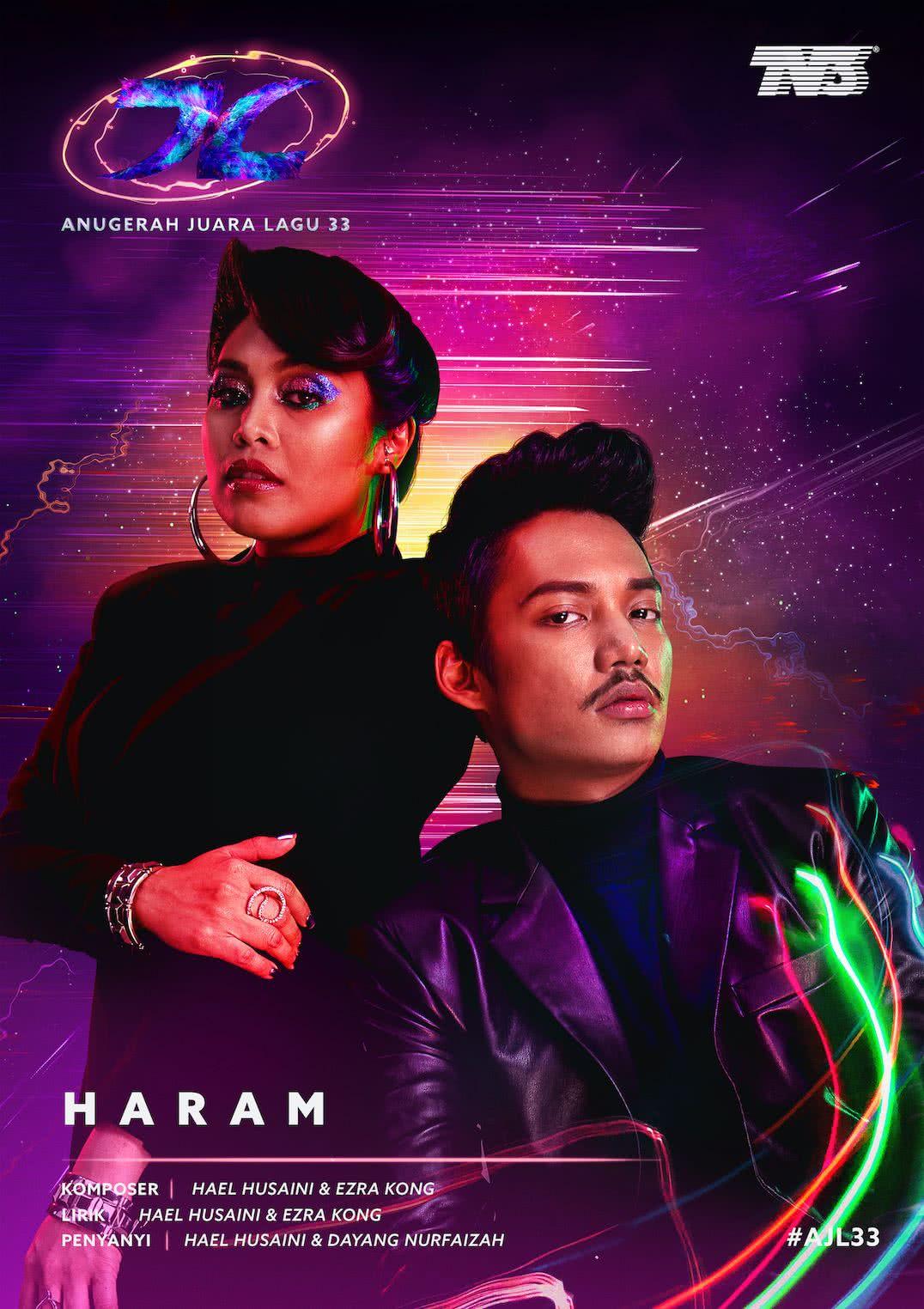 Hael Husaini & Dayang Nurfaizah AJL33