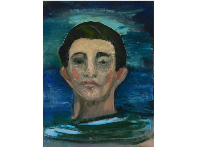 Untitled (Head of Man), Peter Doig