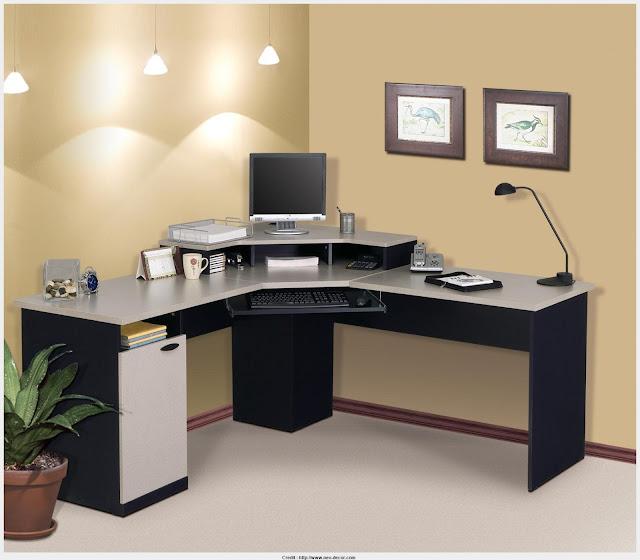 Most Inspiring Corner Computer Table Photograph