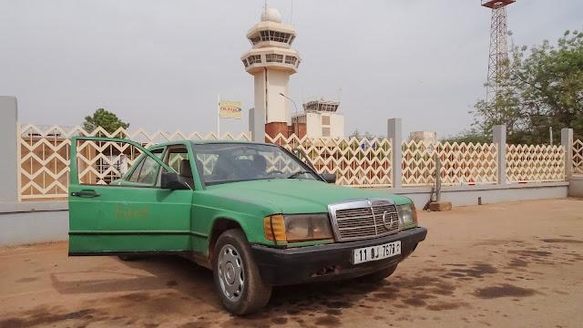 Ouagadougou Airport Taxi Stand