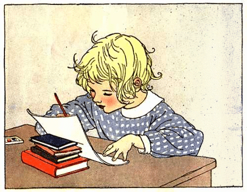 Every Day Is A Gift Writing Letters
