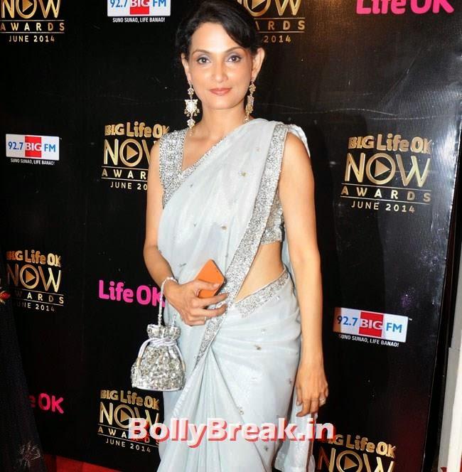 Rajeshwari, Life OK Now Awards 2014 Red Carpet Pics
