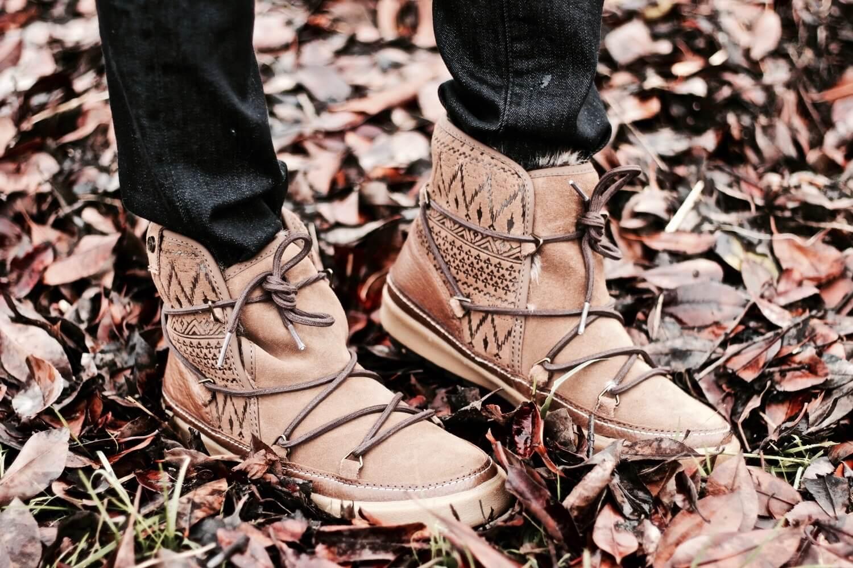 botas estilo alpino