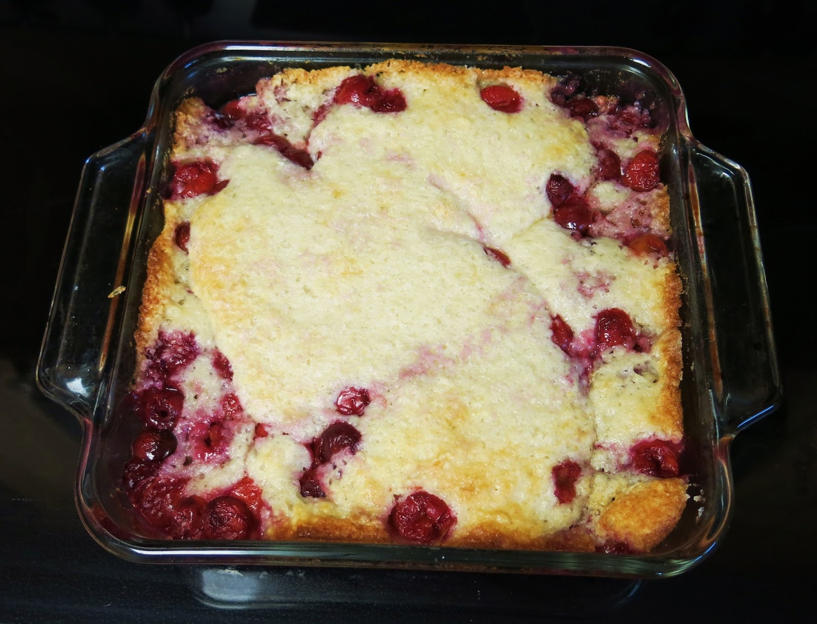 Cherry Cake Cobbler Recipe