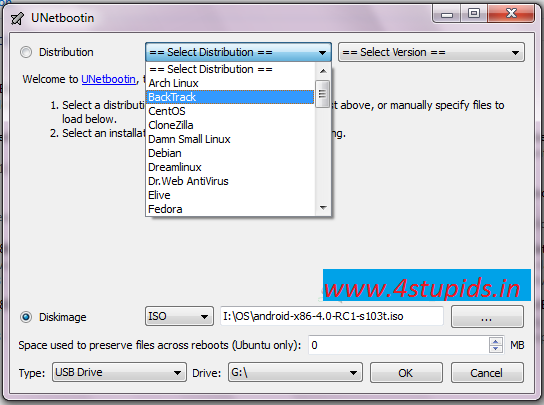 how to make a bootable usb using xp
