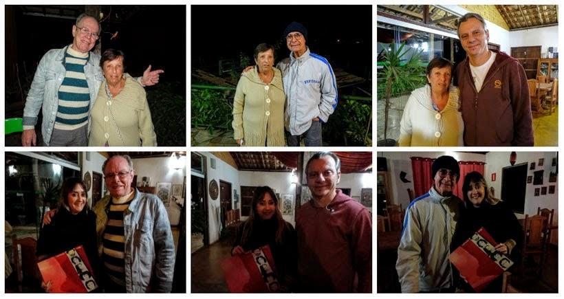 Banda 14 Bis na Pousada Ecocentro Escarpas do Caraça - Onde ficar em Catas Altas
