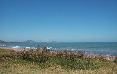 Playa de la costa uruguaya