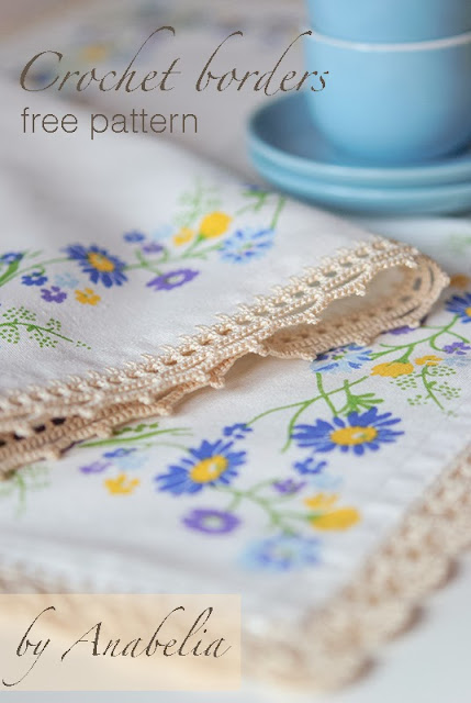 Crochet borders for tablecloth 17 by Anabelia