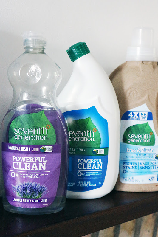 Cleaning with Seventh Generation + a Giveaway!