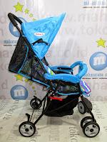 Tidur Blue Does DS209 Kereta Dorong Bayi