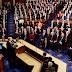 En su primer discurso ante el Congreso, Donald Trump defendió su dura política migratoria
