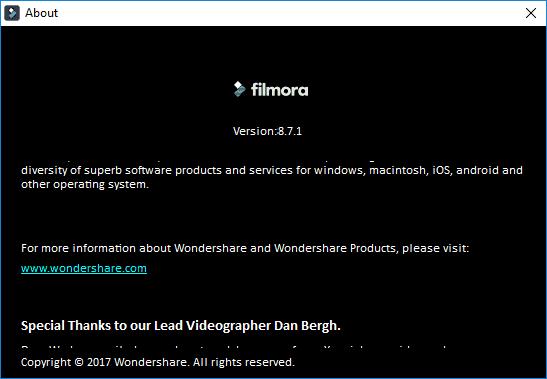 Wondershare Filmora 8 7 6 2 free download