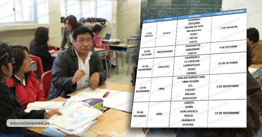 MINEDU: Más de 23 mil maestros de secundaria serán capacitados [CRONOGRAMA DE INSCRIPCIÓN] www.minedu.gob.pe