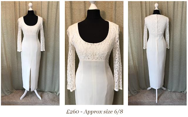 Lace Long Sleeve Vintage Wedding Dress