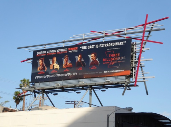 Three Billboards Outside Ebbing Missouri FYC billboard