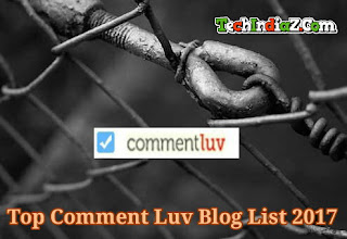 Top comment luv blog list