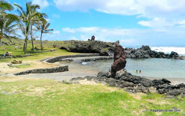 Praia de Poko-Poko, Ilha de Páscoa