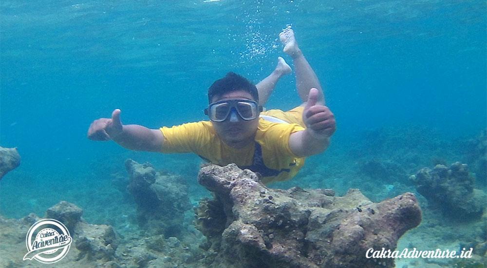 paket wisata open trip pulau tidung