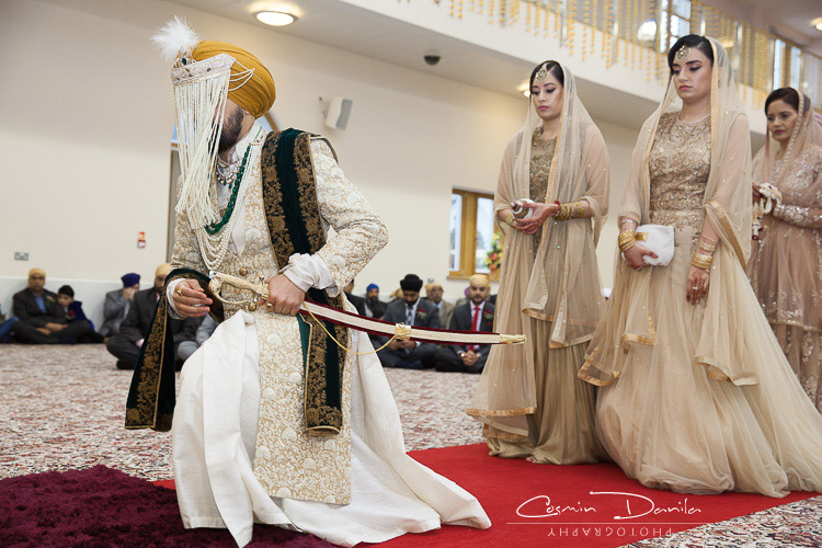 That Way We Might Be On Time For The Anand Karaj