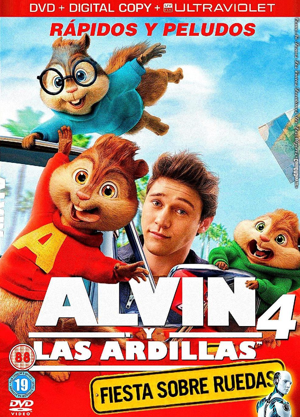 Multipremier Video Tienda ALVIN Y LAS ARDILLAS 4
