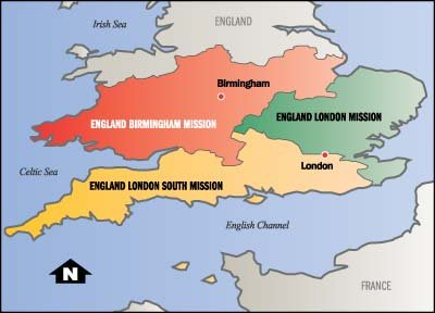 Map Of England Birmingham.Our England London South Mission 2017 2018 New Mission England