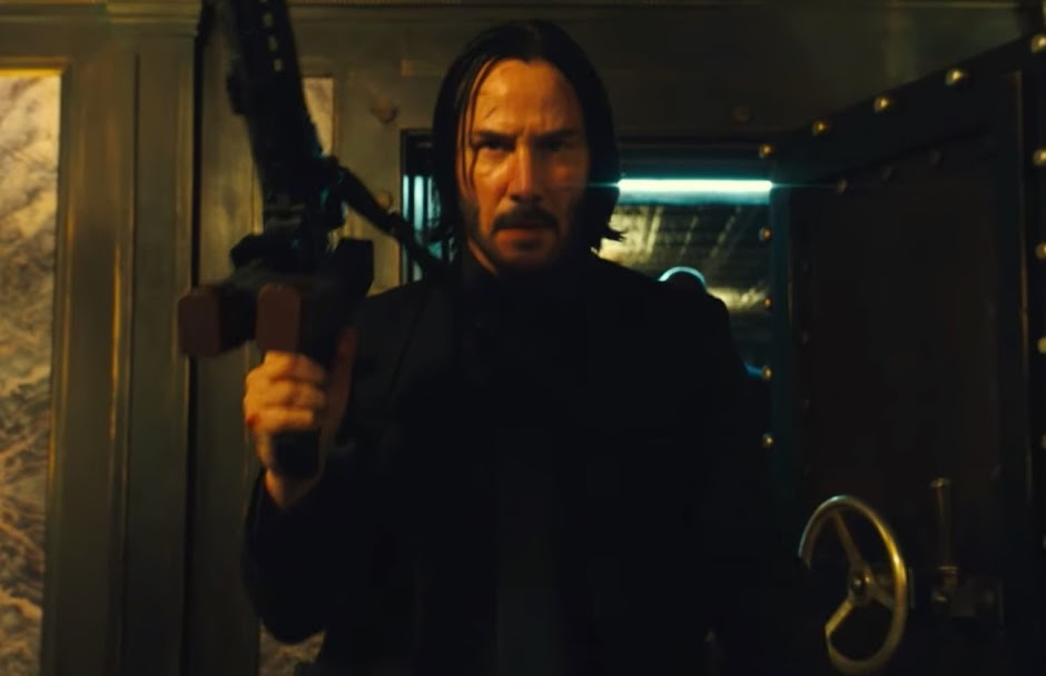 "Keanu Reeves se prepara para guerra no primeiro trailer de ""John Wick 3"""
