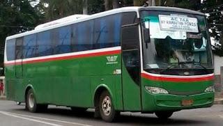 Rute Bus Mayasari Bakti AC 74A Poris Tangerang - Kampung Rambutan