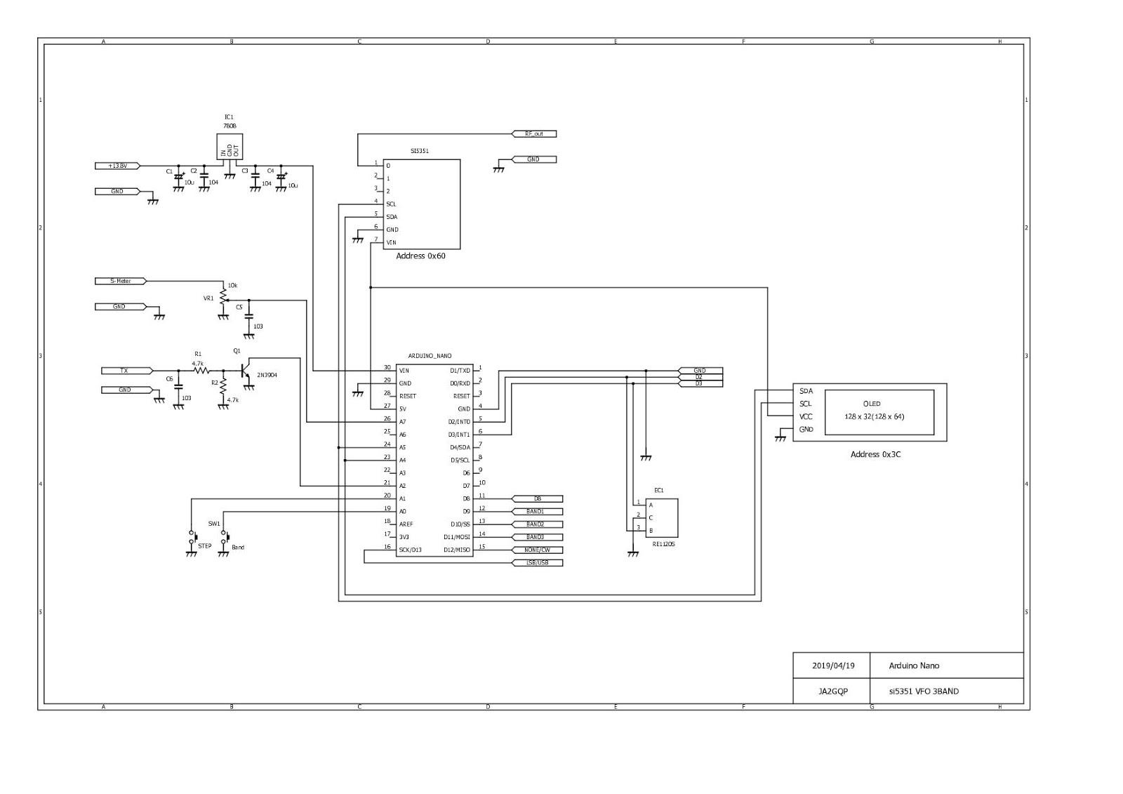 Si5351 Vfo Schematic