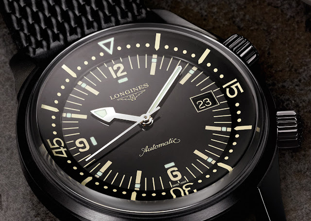 Longines Legend Diver Black