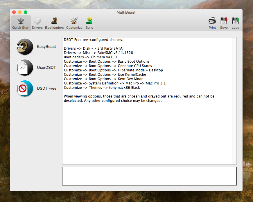 MultiBeast (10 1 1) download on MacOS 10 12 without register