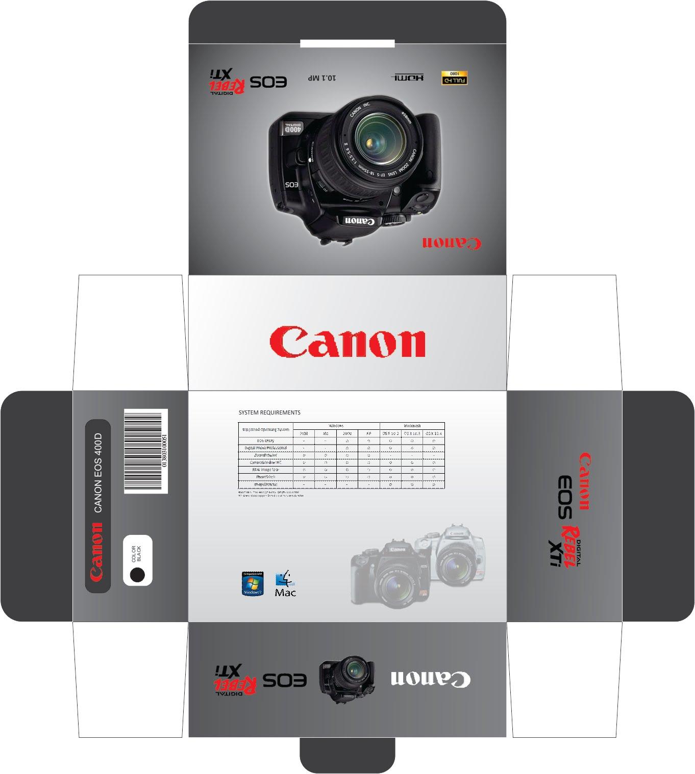 My Creative Juice: Print Designs - Canon EOS 400D
