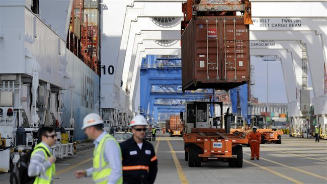 US trade deficit rises; deficit with China at 1-year high