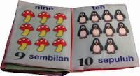 Mainan Anak Dari Kain Counting 1 To 10