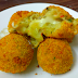 CRISPY POTATO CHEESE BALLS
