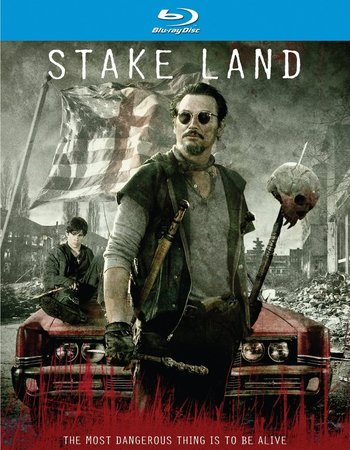 Stake Land (2010) Hindi Dubbed Movie (300.MB)