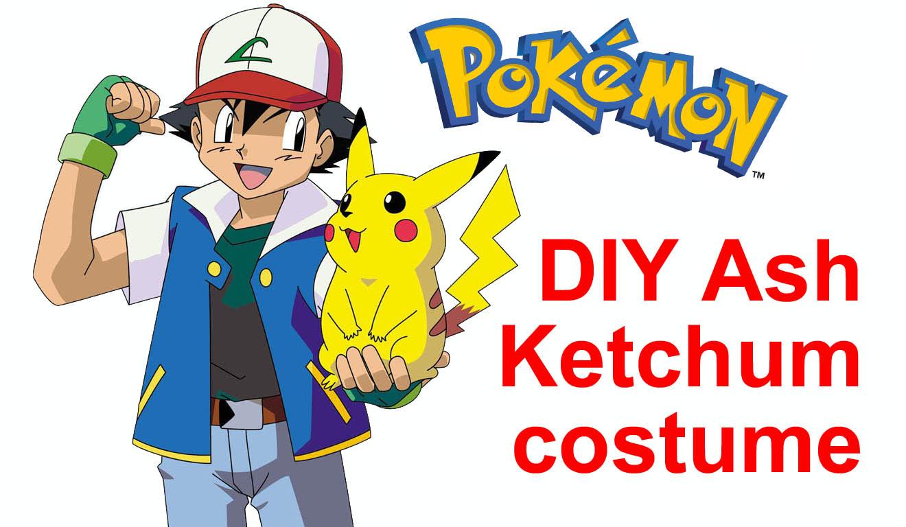 mrsmommyholic diy ash ketchum pokemon costume