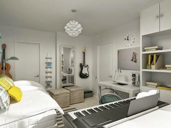 Dicas para decorar um quarto de música