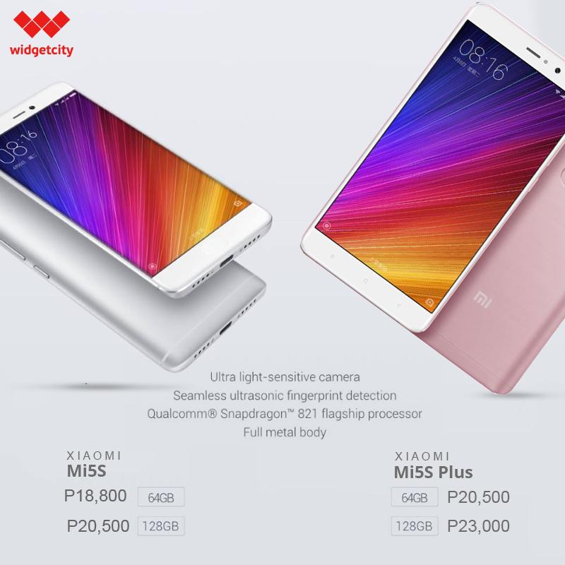 Xiaomi Mi5S and Mi5S Plus