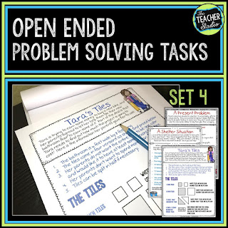 Teaching with open ended problem solving engages students! These real world math problems are perfect for whole class challenges, math centers, accountable talk, math enrichment, math discourse and more!