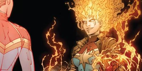 rogue menjadi captain marvel