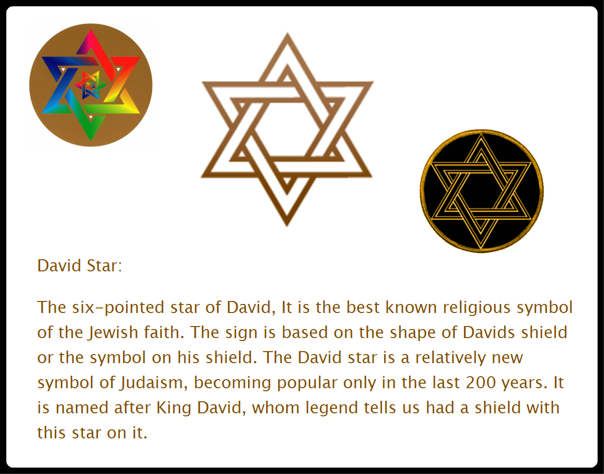 The Star Of David The Star Of David Ikon Text Collection